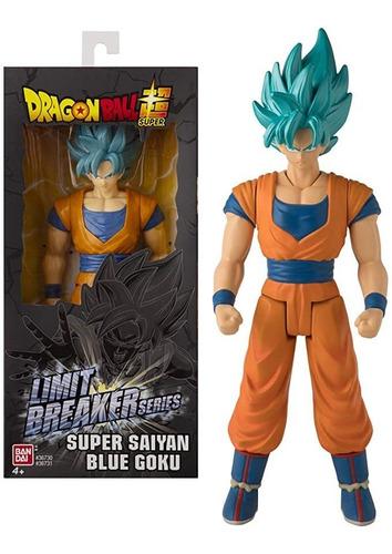 Imagen 1 de 2 de Dragon Ball  Goku  Blue Limit Breaker Series  Bandai