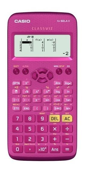 Calculadora Cientifica Casio Fx-82lax Plus Classwiz Rosa