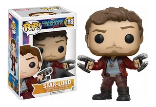 Funko Pop Star Lord #198 - Guardianes De La Galaxia Marvel