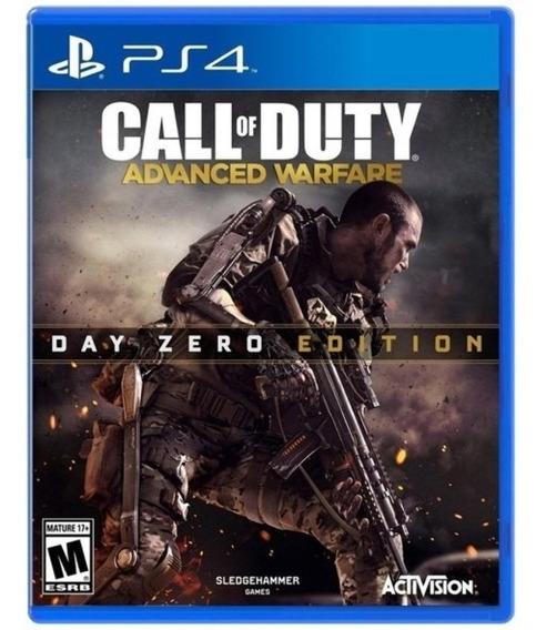 Jogo Call Of Duty Advanced Warfare Ps4 M. Fisica