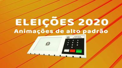 Vìdeo Animação Urna Eletrônica Eleições 2020