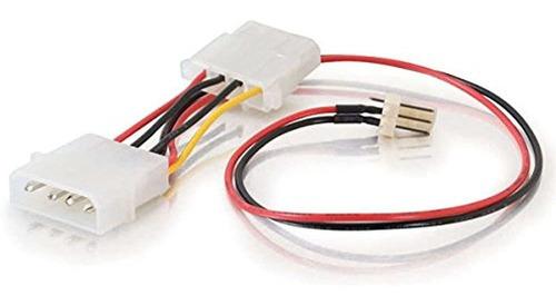 Imagen 1 de 4 de C2g / Cables To Go 27078 Ventilador De 3 Clavijas A 4 Clavij