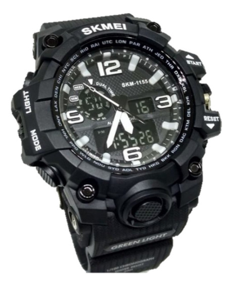 Relógio Masculino Esportivo Skmei 1155 Prova D´água