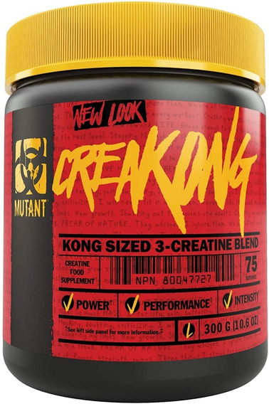 Mutant Creakong 300 Gramos Creatina