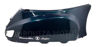 Cacha Lateral Bajo Asiento Zanella Styler 150 Z3 Der Verde