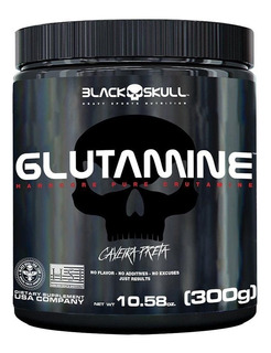 Glutamine Isolates - 300g - Black Skull