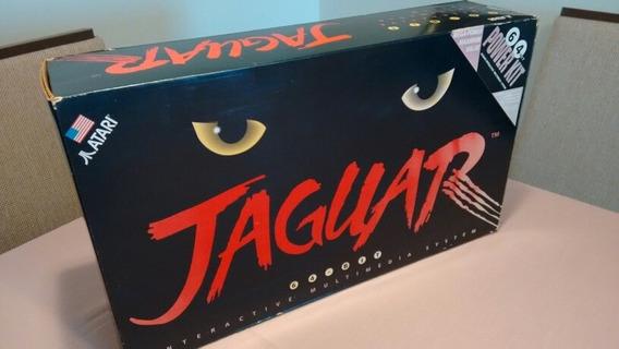 Atari Jaguar Em Estado De Novo! Completo E Funcionando!