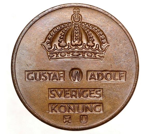 Suecia - Moneda De 1 Ore Del Año 1969 - Sin Circular