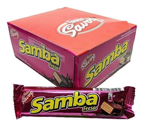 Imagen 1 de 1 de Chocolate Samba Savoy Venezolano Impor - kg a $2750