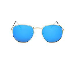 a662752cd Oculos Feminino Round Espelhado Azul - Óculos De Sol no Mercado ...