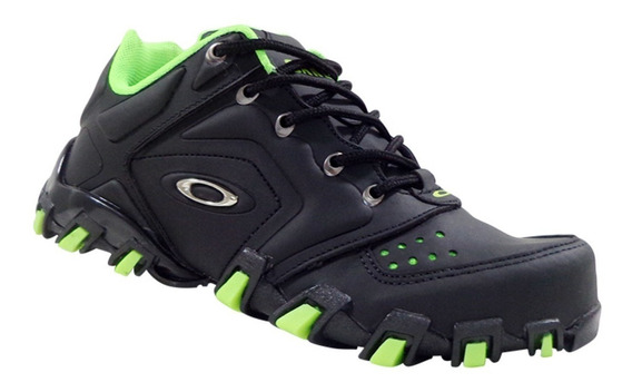 Tênis Oakley Teeth Anchor Preto C/ Verde + Frete Grátis