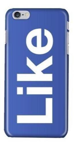 Funda Protector Case iPhone Galaxy Facebook Like Logo