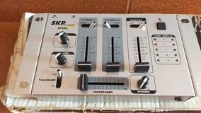 Mesa De Som Dj Skp Proaudio Sm35 Compacta Pequena Microfone