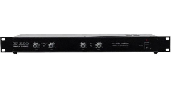 Crossover Ativo Mark Audio Ep220 Corte Fixo 2 Vias Estéreo