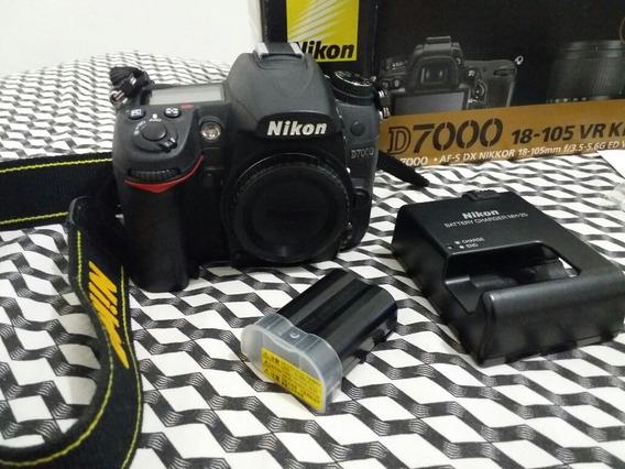 Câmera Corpo Nikon D7000