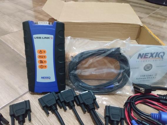 Nexiq 2 Scanner 124032 Volv Ford Vw Mwm Et Cat Inst/ Grátis