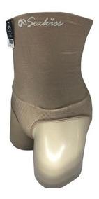 Calcinha Cinta Com 12pecas Cós Alto Duplo Calça Modeladora