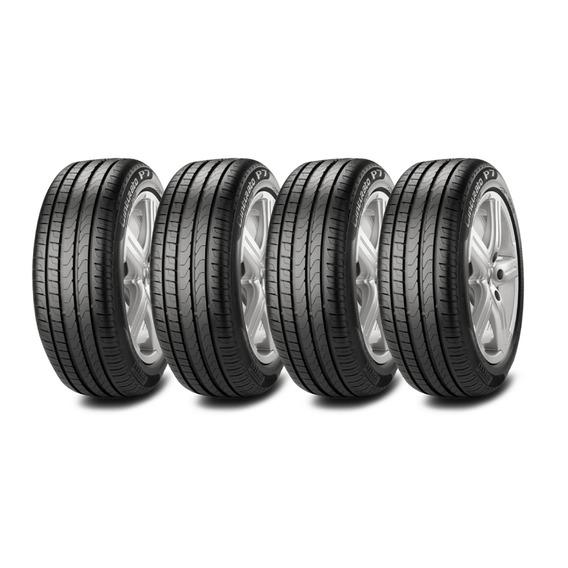 Kit X4 Pirelli 225/50 R17 Pirelli P7 Cinturato Neumen Ahora1