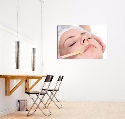 Cuadro 20x30cm Depilacion Estetica Cera Depiladora Facial