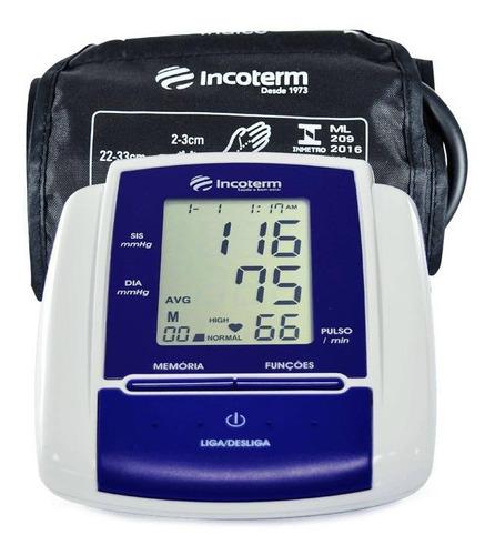 Medidor de pressão arterial digital de braçoIncoterm MB050