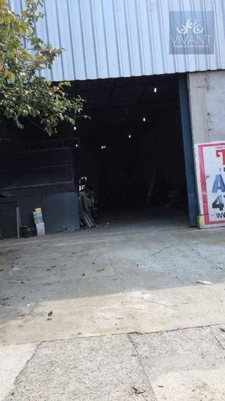 Galpão Comercial Para Locação, Jundiapeba, Mogi Das Cruzes. - Ga0013