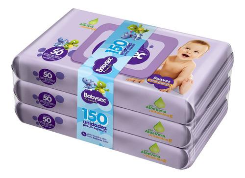 Toallitas Babysec Premium X150