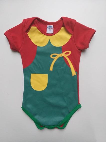 3 Und Body Infantil Chiquinha Chaves Divertido P M G
