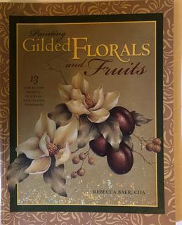 Libro Para Pintar Porcelana. Florales.