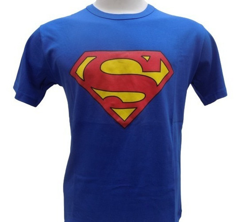 Remera De Superman Comic Superhéroe Rockería Que Sea Rock