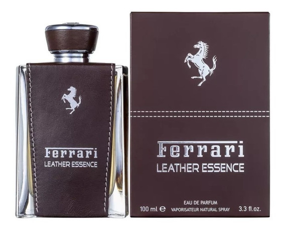 Perfume Ferrari Leather Essence Parfum 100 Ml - Selo Adipec