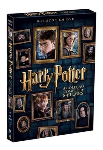 Box Harry Potter A Coleção Completa 8 Filmes Dvd Lacrado