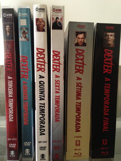 Coleção Dvd / Blu-ray Dexter - 3ª À 8ª Temporadas