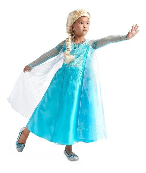 Vestido Elsa Frozen Original Marca Disney Importado De Wdw