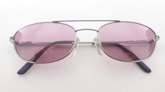 Óculos Solar Metal #conforto, Lentes Fumês, #forum, F504