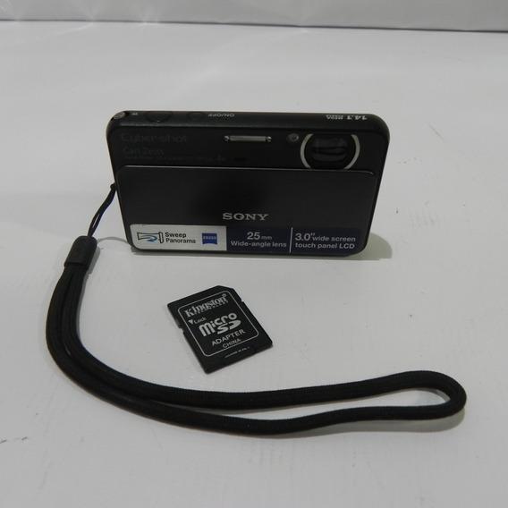 Sony Cybershot Dsc-t99 4x Zoom Panorama 14.1 Mp - Usado