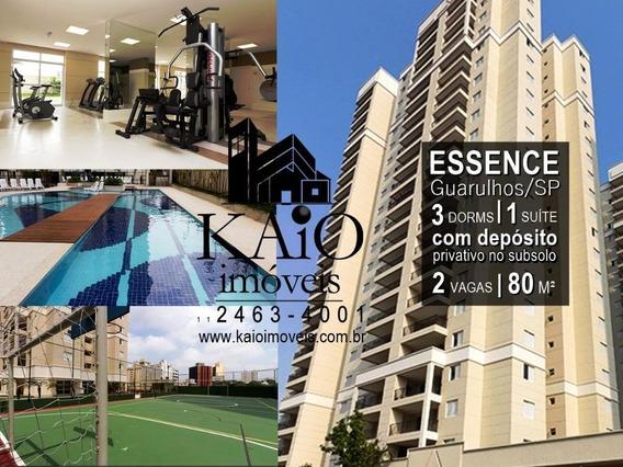 Lindo Apartamento No Condominio Essence! - Ap1025