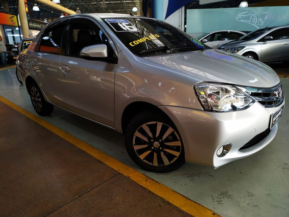 Etios 2016 1.5 Platinum Sedan Kit Multimídia, Top De Linha!