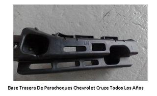 Soporte Guia Base De Parachoques Trasero Chevrolet Cruze