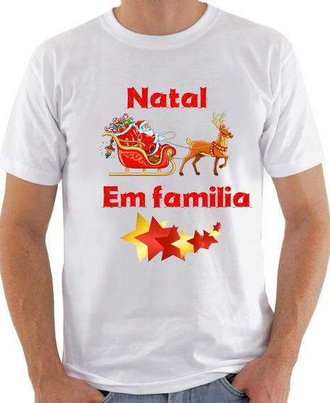 Kit 6 Camisetas Natal