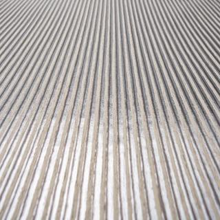 Papel De Colgadura Tapiz Rayas Plateada 53cm X 10 M Y6130101