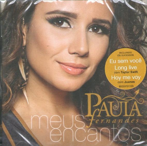 Cd Paula Fernandes - Meus Encantos - Novo***