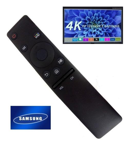 Controle Samsung Tv Udh 4k 2017 2018 59b Séries 6 7 Mu6300 Mu6400 Mu6500 Mu7000 Mu7500 Nu7100 Tv Curva Nu7300 49un7300 U