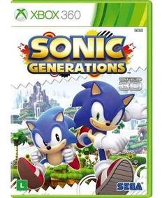 Sonic Generations Xbox 360 Platinum Hits