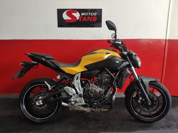 Yamaha Mt07 Mt 07 Mt-07 Abs 2017 Amarela Amarelo