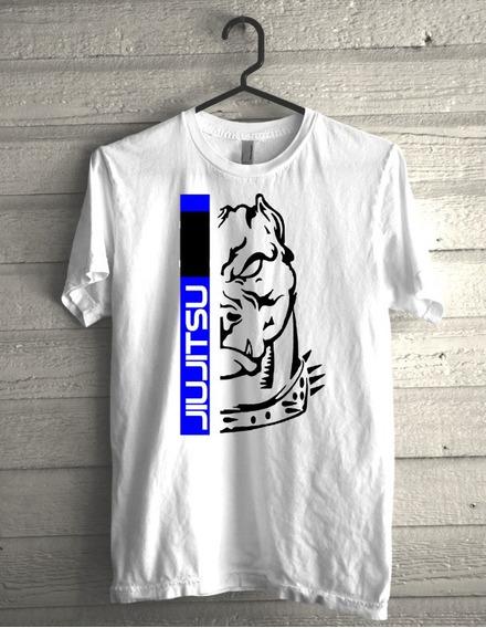 Camiseta Jiujitsu Faixa Azul