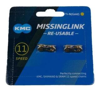 Par Emenda Corrente Kmc 11v Missing Link Shimano Power Link