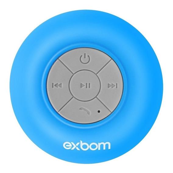 Mini Caixinha Som Bluetooth Prova Água Banho Com Ventosa