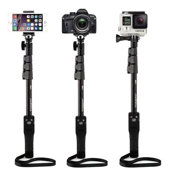 Bastão Pau Selfie Monopod 1288 Yunteng Câmera Gopro Celular