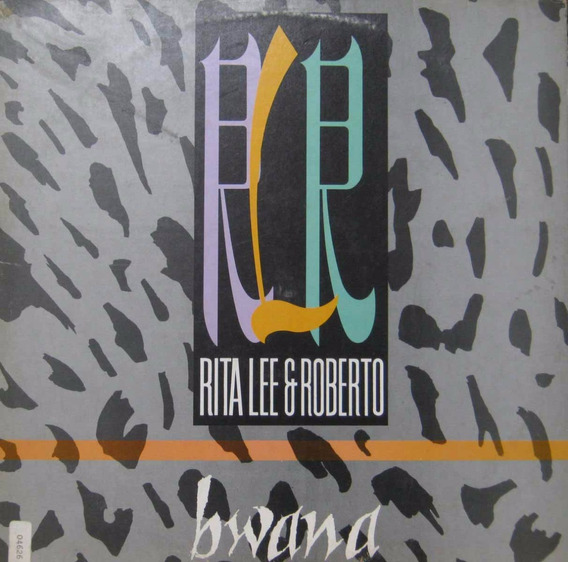 Rita Lee E Roberto - Lp Single Bwana - Emi 1987