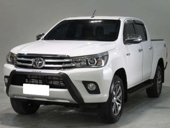 Toyota Hilux 2.8 Srx Branca Cd 4x4 Turbo Diesel Interc. 2017